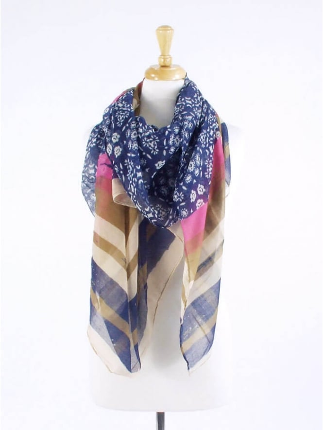 Kit and Kaboodal Bria Scarf Blue