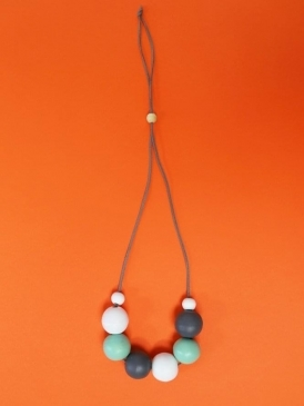 Kit and Kaboodal Danna Necklace Mint