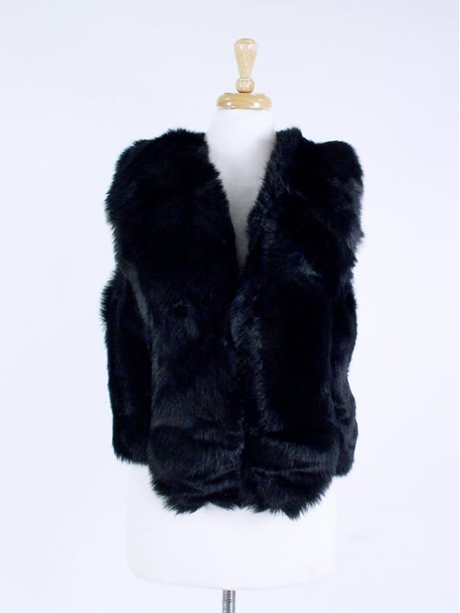 Kit and Kaboodal Diana Faux Fur Gilet