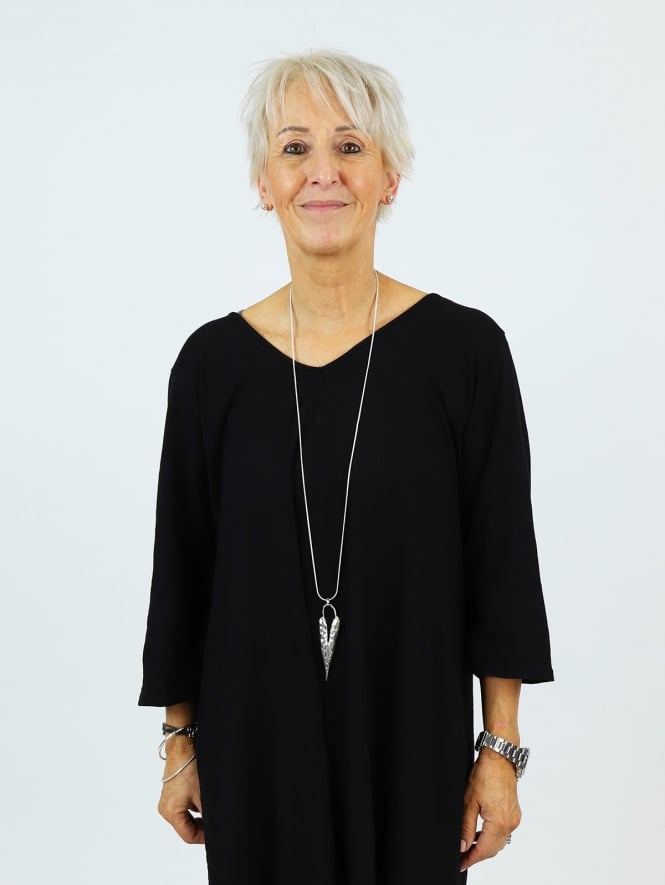 Kit and Kaboodal Greta Necklace Sliver