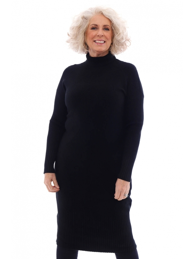 Kit and Kaboodal Haswell Polo Neck Jumper Dress