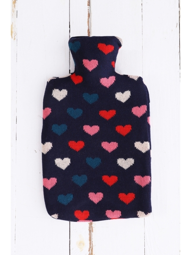 Kit and Kaboodal Heart Hot Water Bottle