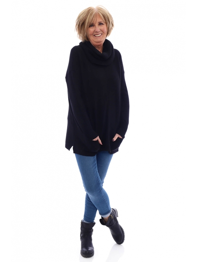 Kit and Kaboodal Hereford Snood Pocket Jumper