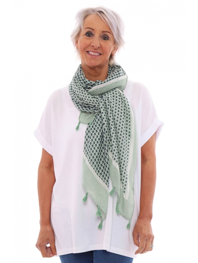 Kit and Kaboodal Juliet Tassel Scarf