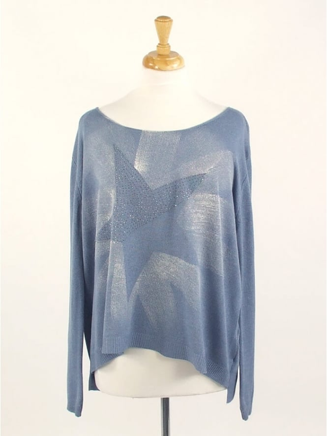 Kit and Kaboodal Made In Italy Soay Star Knit Top