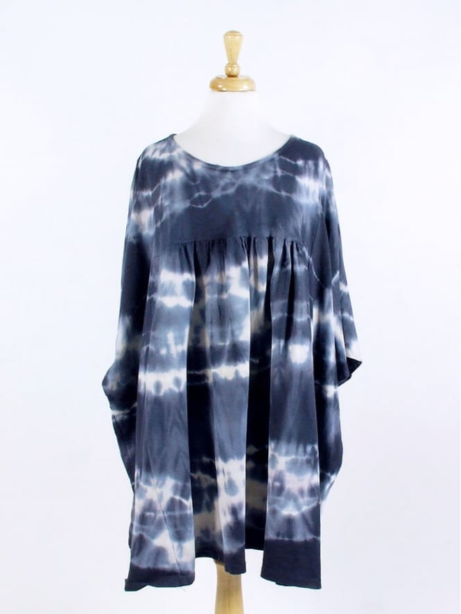 Kit and Kaboodal Made in Italy Tetbury Tie Dye Cotton Tunic
