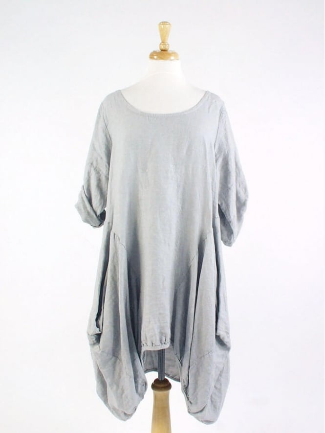 Kit and Kaboodal Made In Italy Walney 2 Linen Tunic