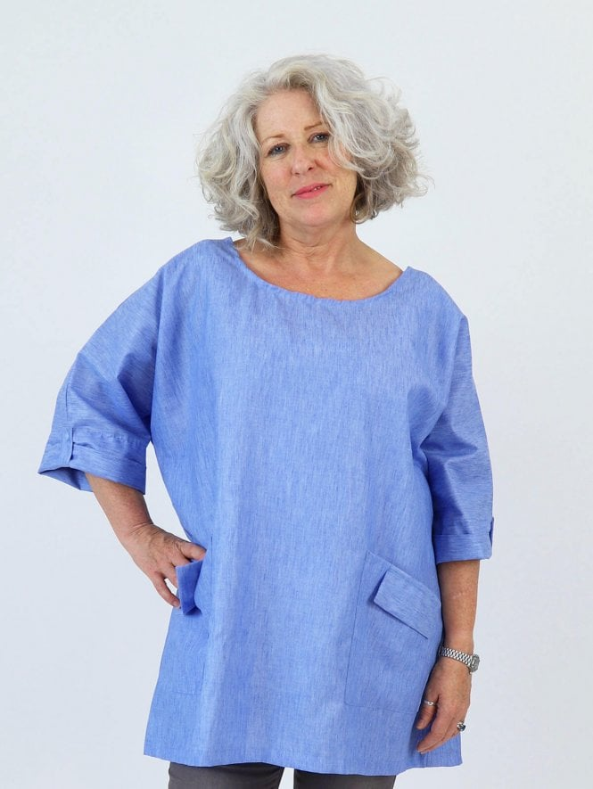 Kit and Kaboodal Made with Love Sydney Linen Tunic