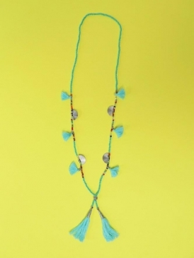 Kit and Kaboodal Manuela Necklace Turquoise