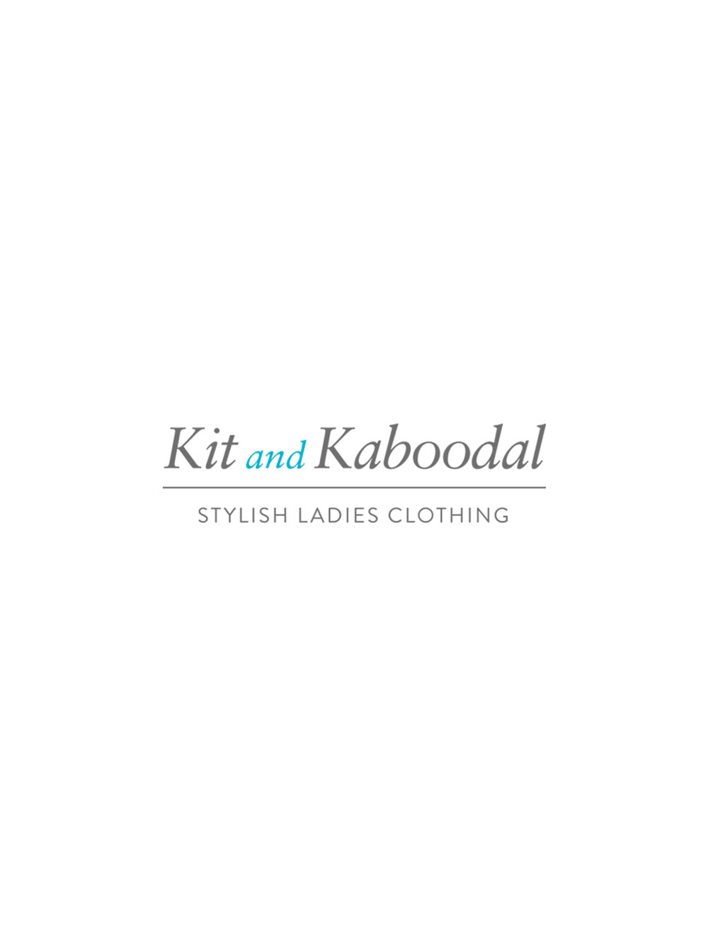 Kit and Kaboodal Mint Necklace Silver and Rose Gold