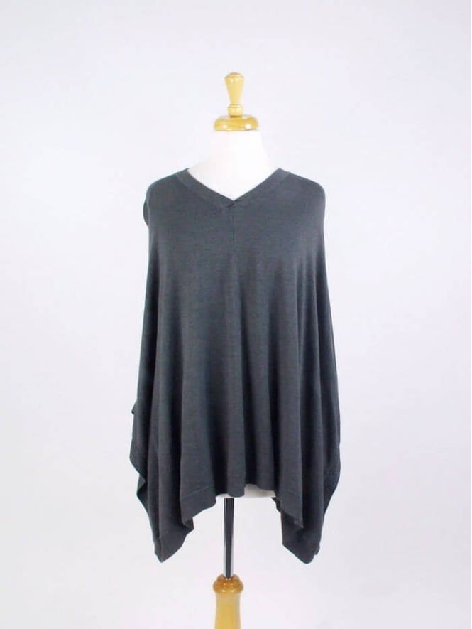 Made In Italy Angel Poncho