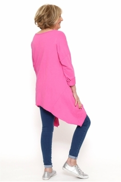Made in Italy Ashmore Dipped Side Tunic