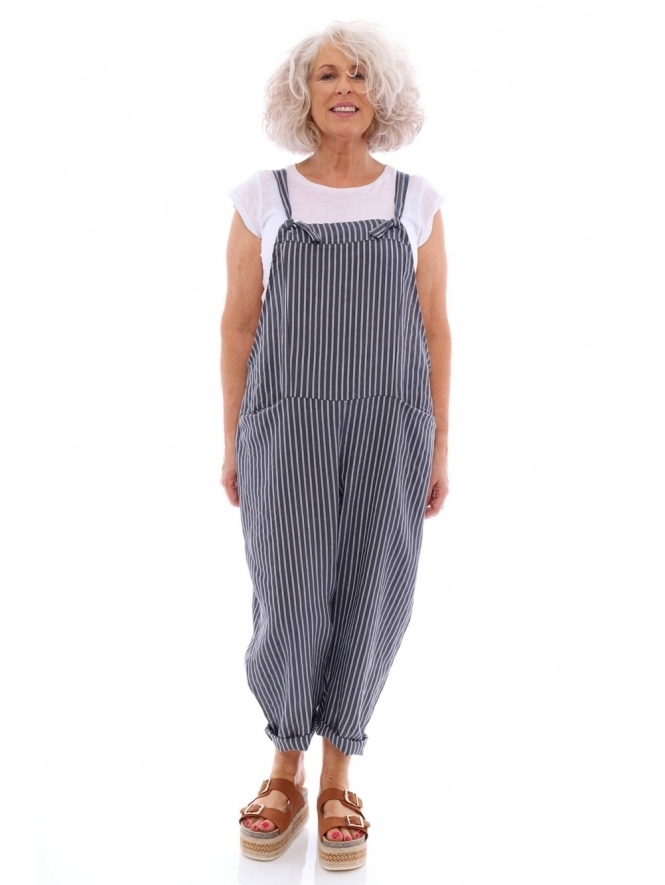 Made in Italy Berrow Stripe Dungarees