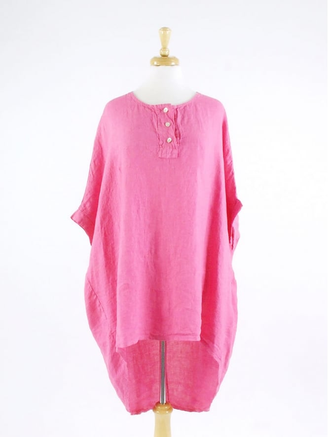 Made in Italy Blore Linen Tunic
