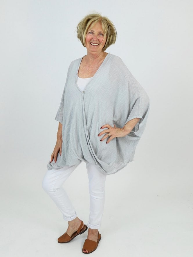 Made in Italy Boskenna Linen Top