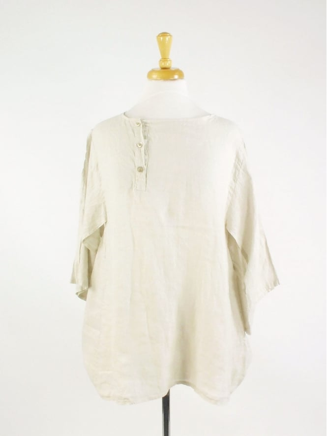 Made In Italy Brodick Linen Top