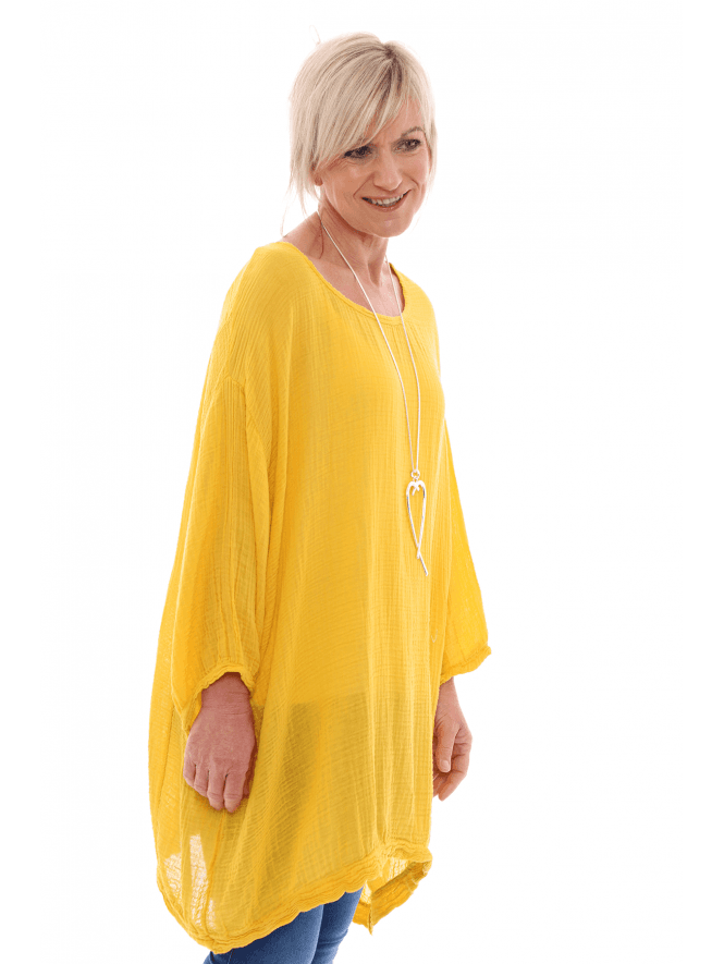 Made in Italy Doolin Cotton Tunic