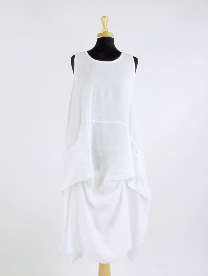 872d65abe64 Made in Italy Dringwood Linen Dress