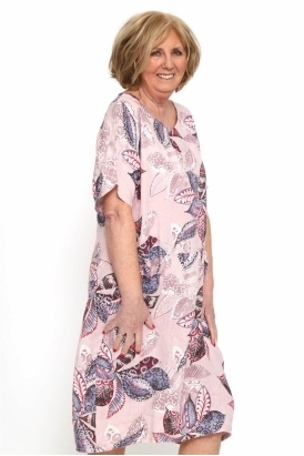 0512623dbd Made in Italy Elenors Grove Patterned Dress