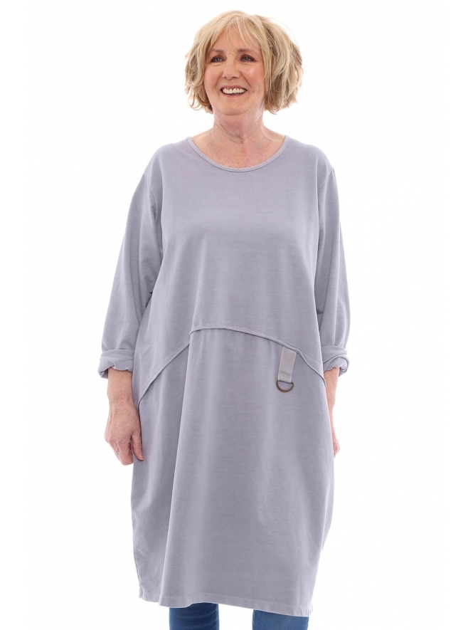 Made in Italy Esther Washed Tunic Dress