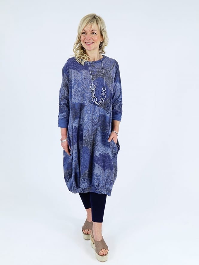 Made In Italy Freya 2 Cotton Printed Dress