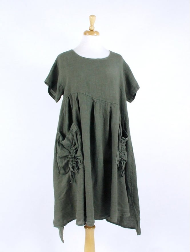 Made in Italy Frome Linen Dress