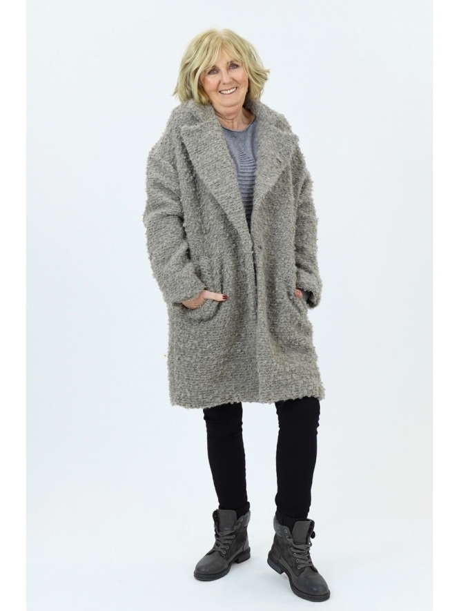 Made in Italy Giggleswick Boucle Coat