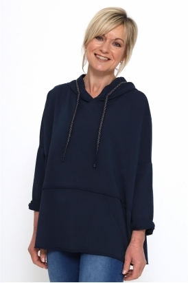 Made in Italy Gloucester Plain Hooded Sweatshirt