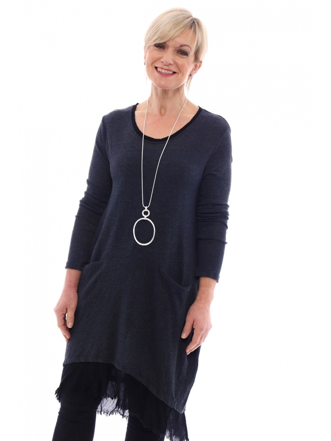 Made in Italy Glynde Knitted Tunic Dress