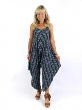 Made In Italy Harlow Stripe Jumpsuit