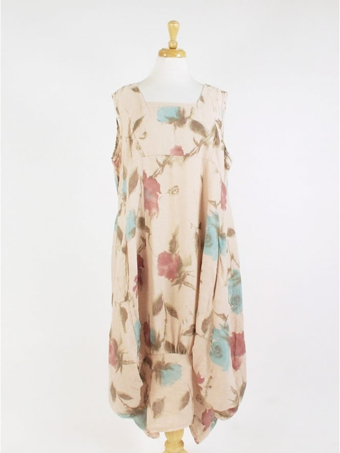 Kit and Kaboodal Made in Italy Hartland Floral Linen Dress