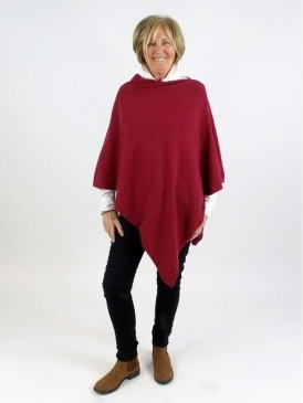 Made In Italy Helen Cashmere Poncho
