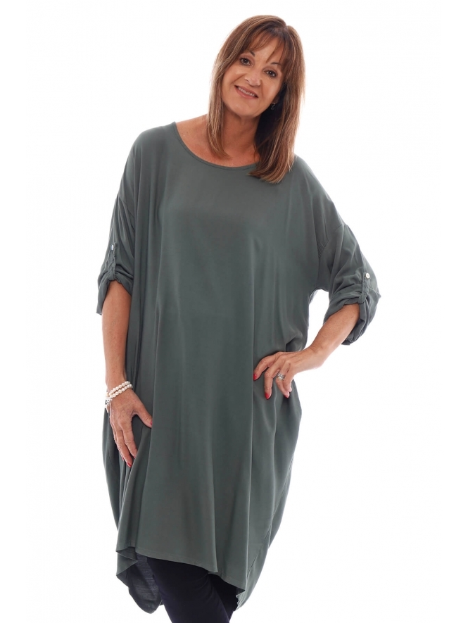 Made in Italy Hollybank Twist Tunic
