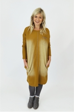 Made in Italy Horbury Washed Tunic Dress