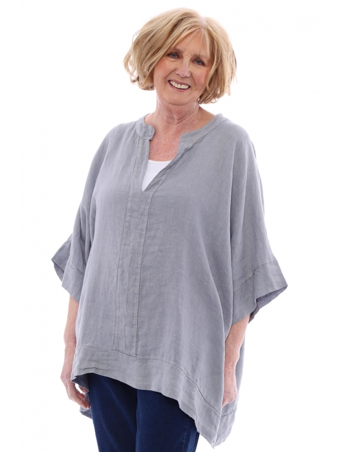 Made in Italy Isabella Fresca Linen Top