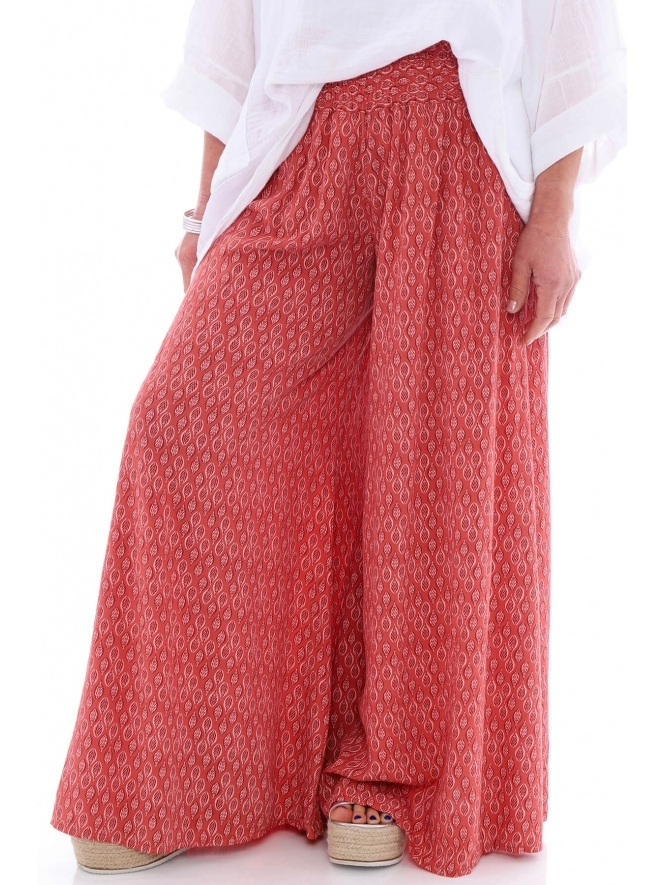 Made in Italy Jessie Palazzo Pants