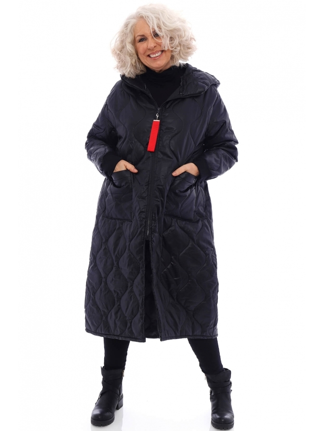 Made in Italy Kaber Quilted Coat
