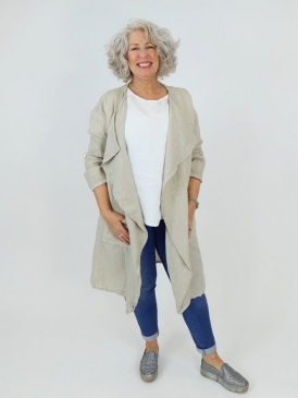 Made in Italy Kim Linen Jacket