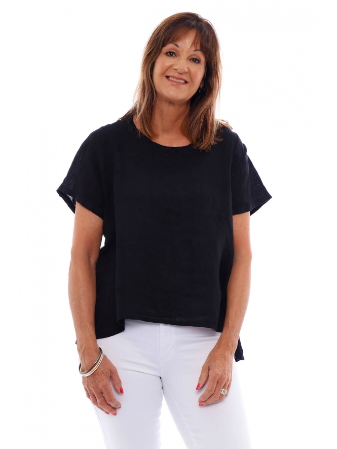 Made in Italy Kittisford Linen Top
