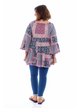 43d893fe596 Made in Italy Lindisfarne Pom Pom Tunic