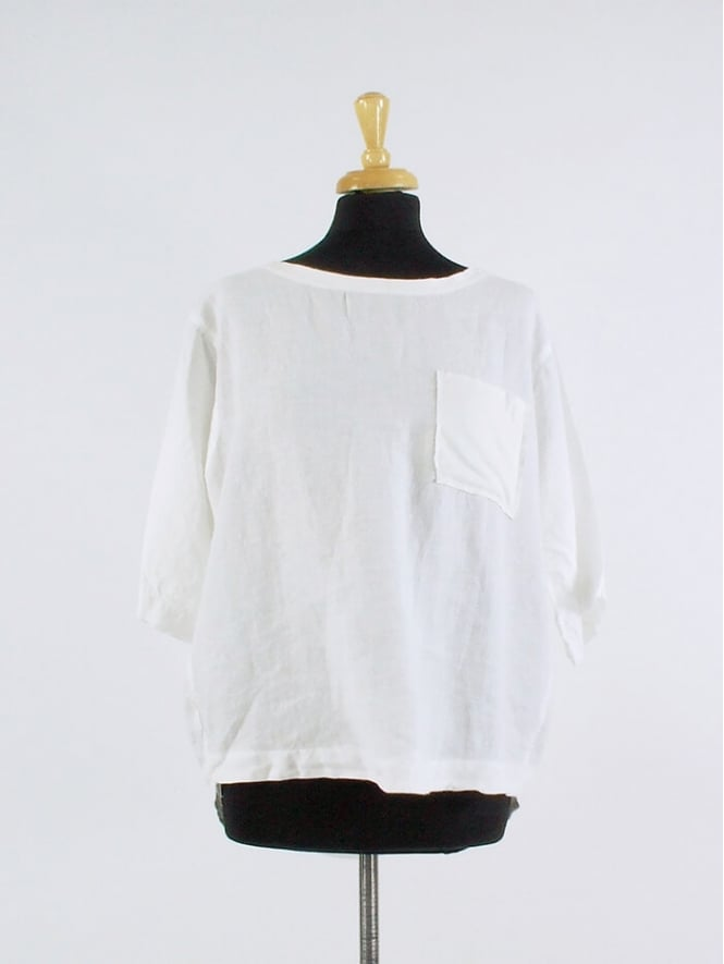 Made In Italy Lintz Linen Top