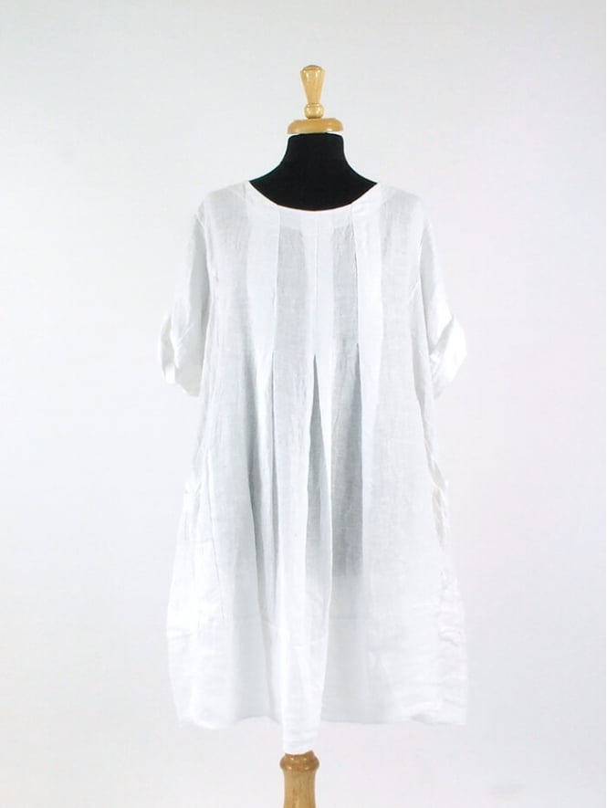 Made In Italy Looe Linen Dress