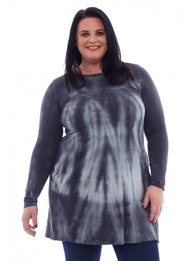 Made in Italy Maddy Tie Dye Tunic