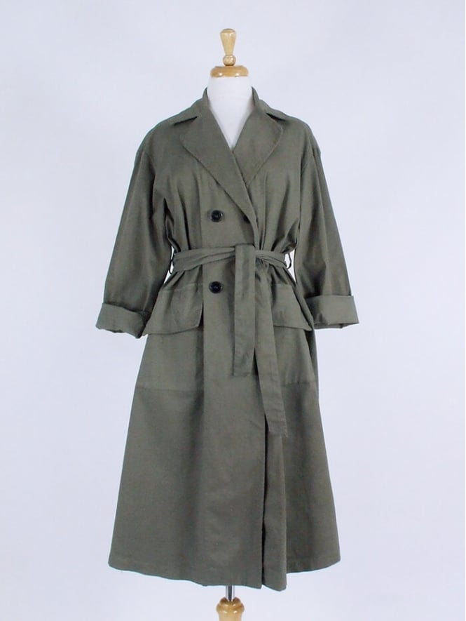 Made in Italy Monaghan Longline Trench Coat