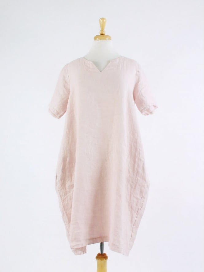 Made in Italy Morda Linen Dress