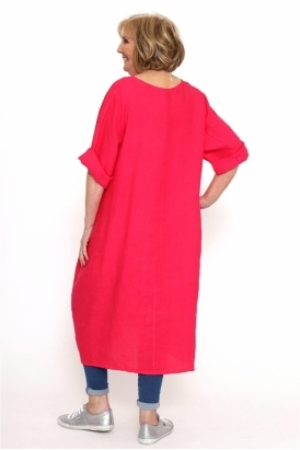 Made in Italy Naast Premium Linen Dress