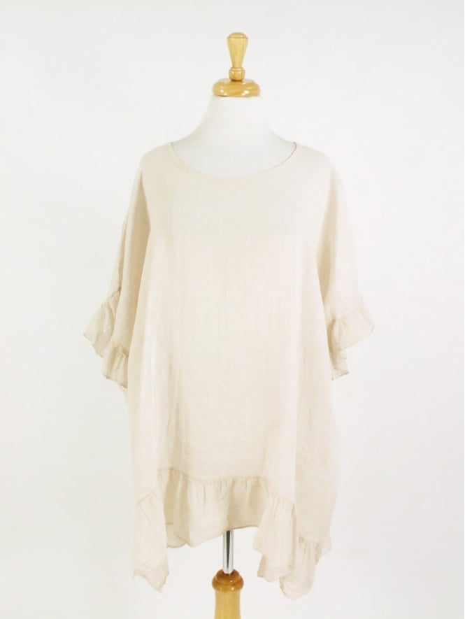 Made In Italy Netley Linen Top