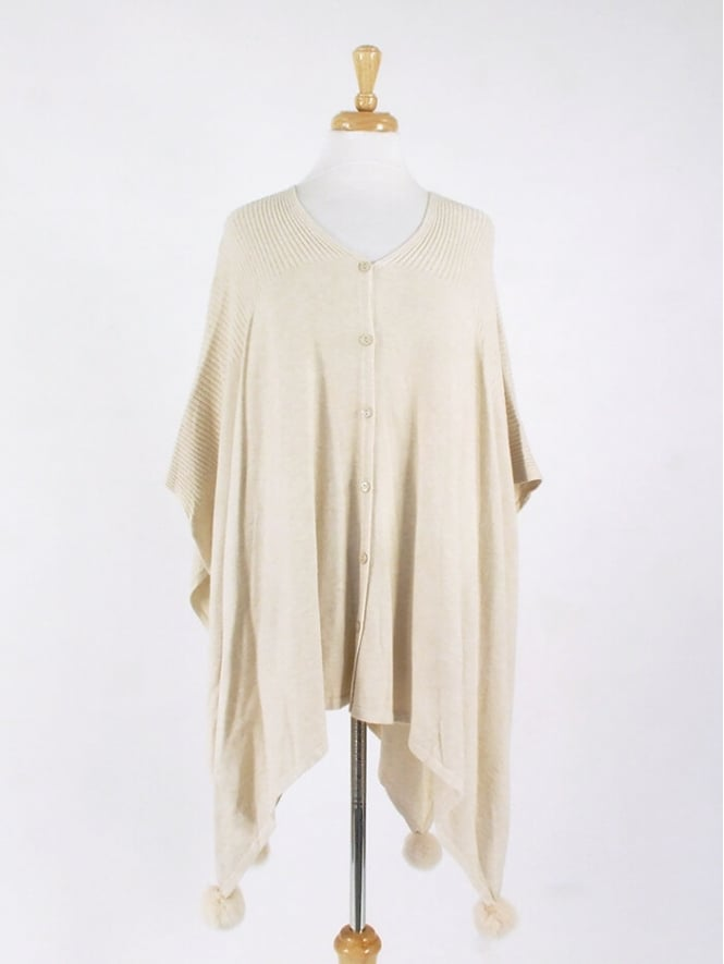Kit and Kaboodal Made in Italy Newburn Poncho