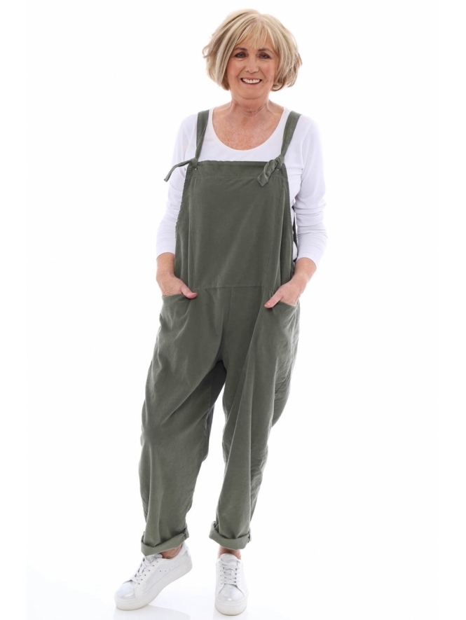 Made in Italy Pabo Cord Dungarees