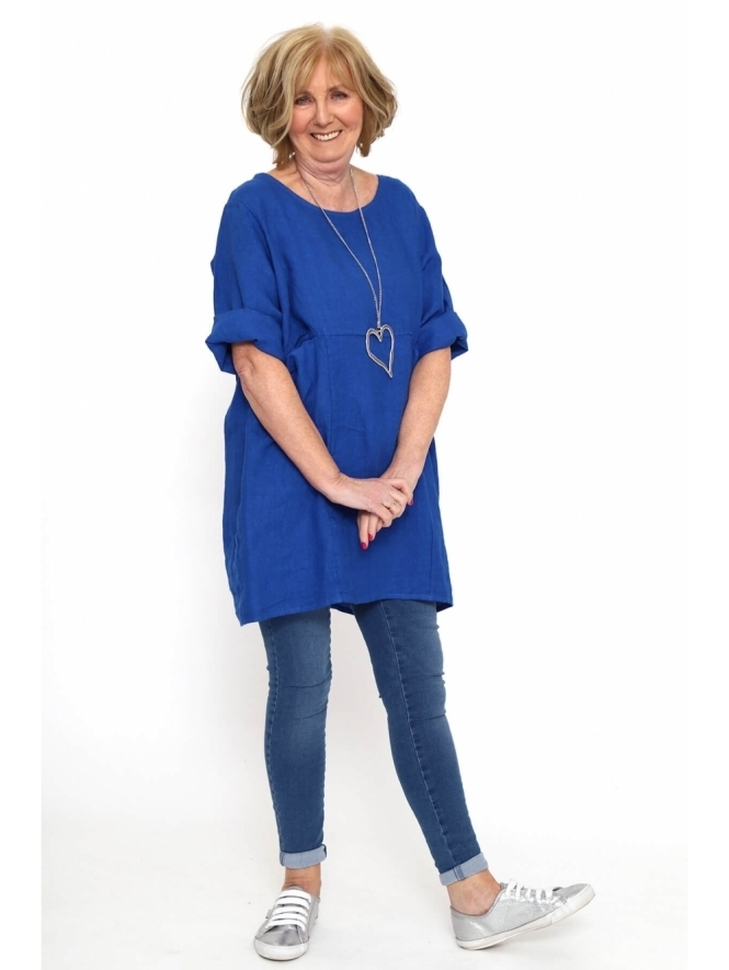Made in Italy Pailton Premium Linen Tunic